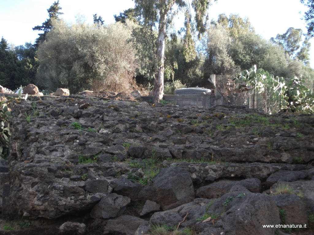 Capomulini resti archeologici