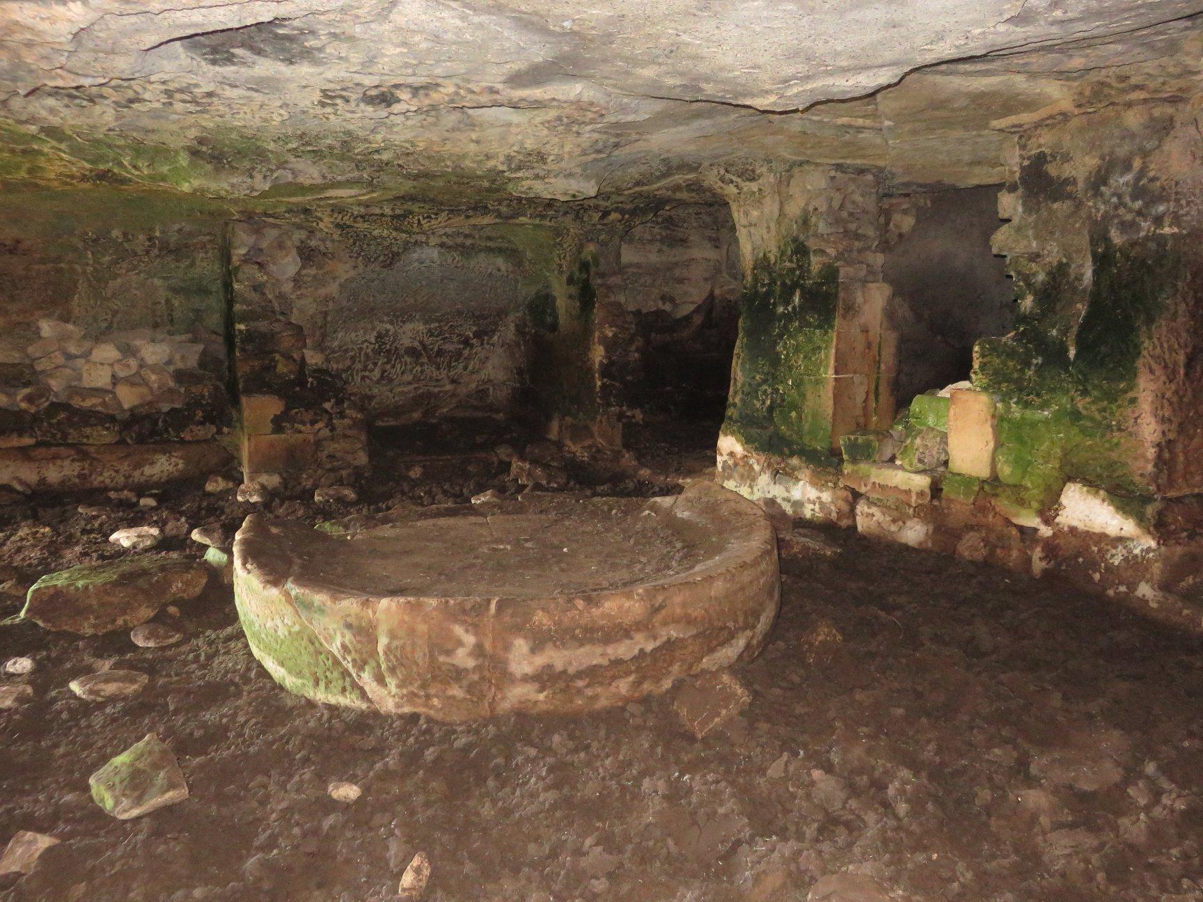 Catacombe cava Palombieri