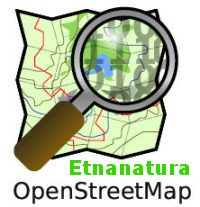 Etnanatura su Open street map