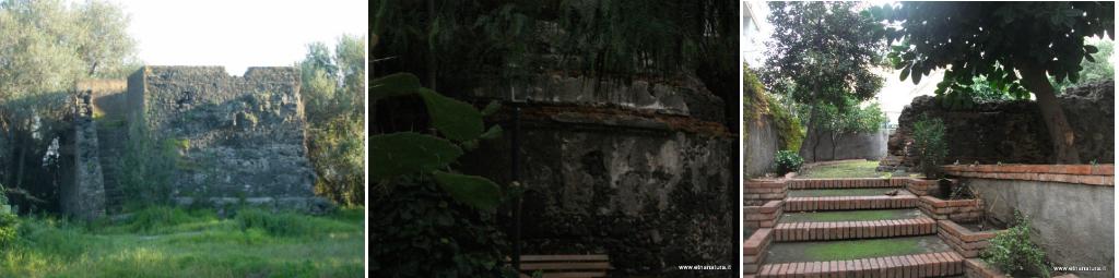 Ipogeo della collina Leucatia, Mausoleo circolare di villa Modica e Ipogeo quadrato