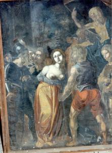 """Chiesa di San Pietro - Piazza Armerina """"Il martirio di Sant'Agata"""""""