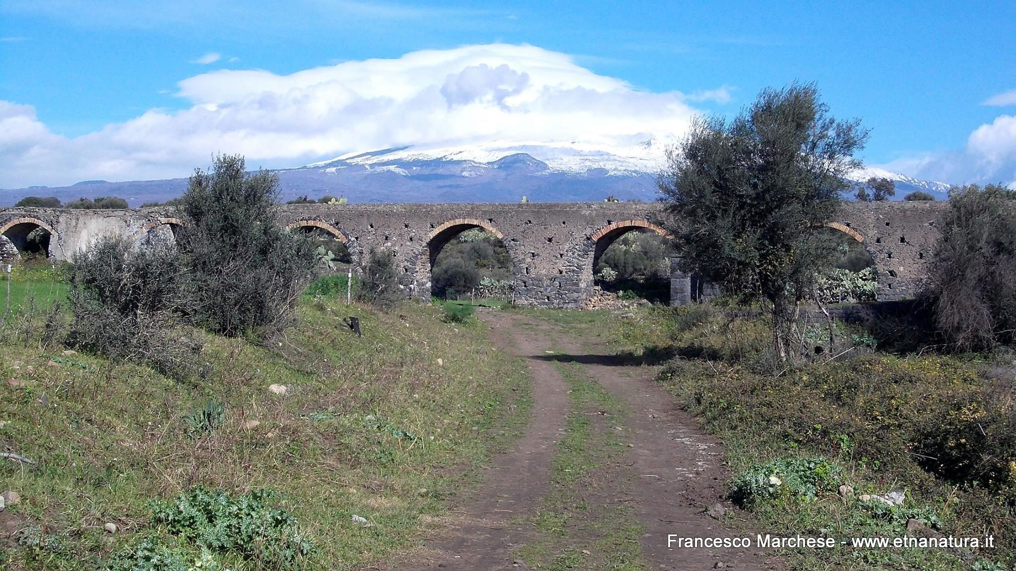 Acquedotto contrada Valcorrente.
