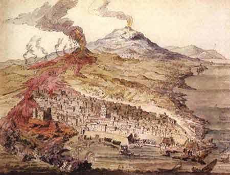 Giacinto Platania. L'eruzione dell'Etna del 1669.
