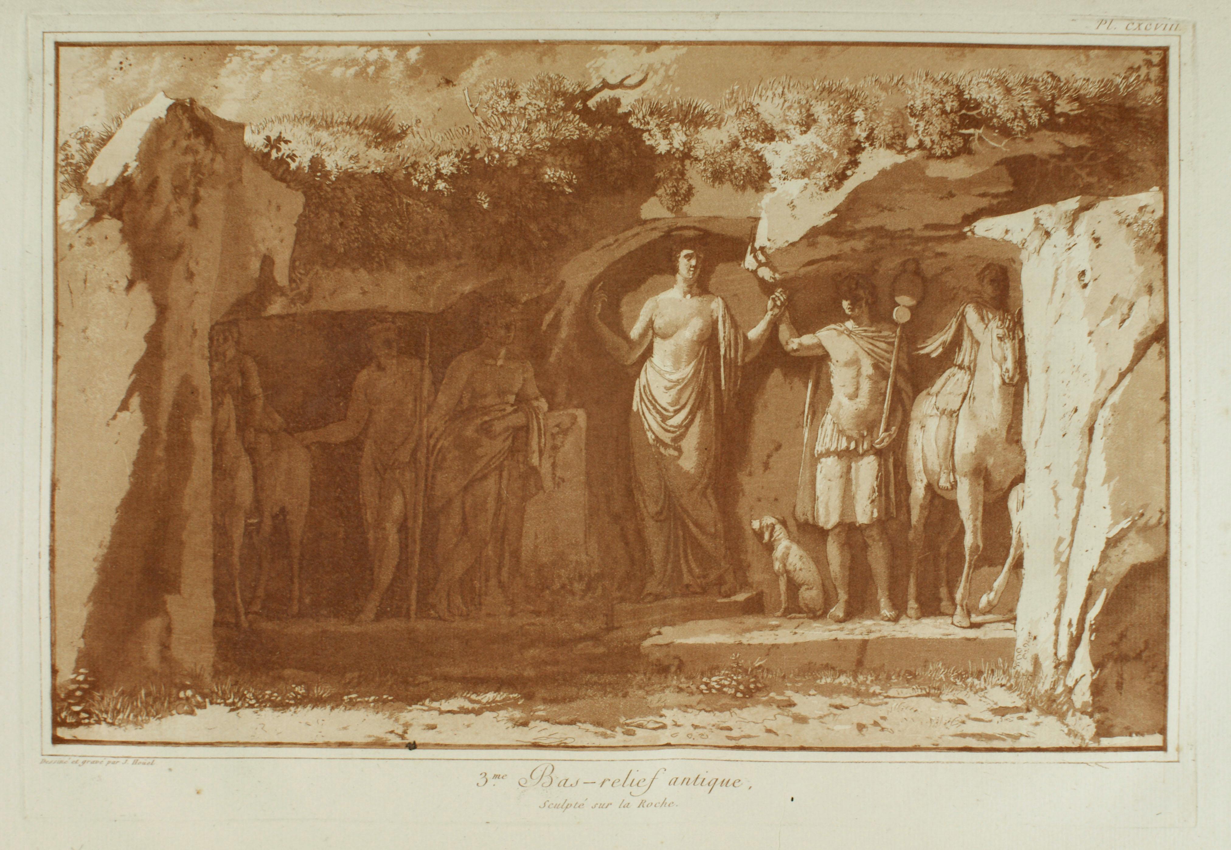 Houel, Voyage Pittoresque, Vol. III, 1785, Tavola 198